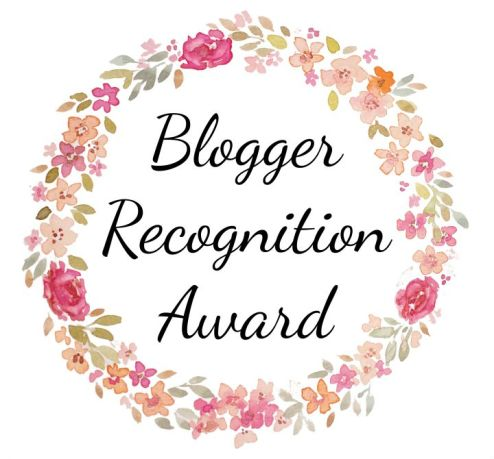 Image result for the blogger recognition award